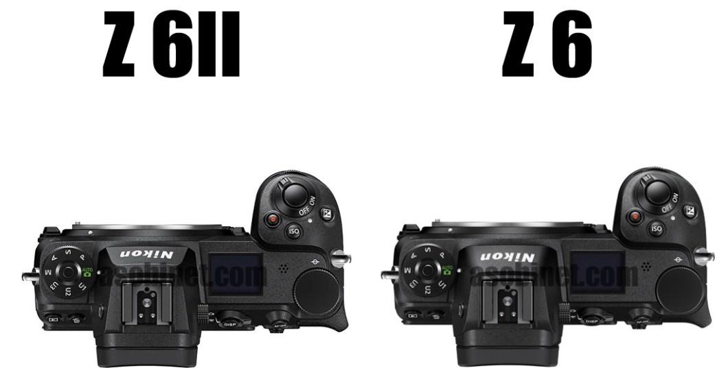 Z 6IIとZ 6の外観比較