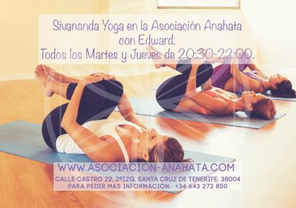 Clases de Sivananda en Yoga en Santa Cruzcon Edward