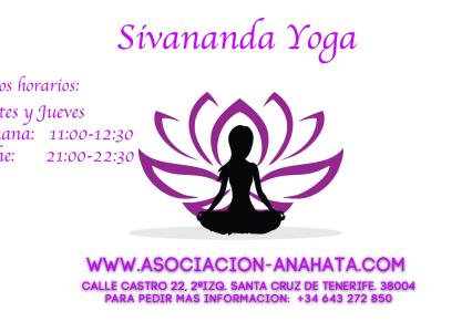 Nuevos Horarios de clases de Sivananda yoga para el 2020.