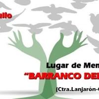 El barranco del Carrizal, lugar de la Memoria