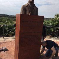 Motril rinde homenaje al doctor Henry Norman Bethune, héroe de la Desbandá