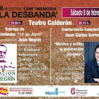 Juan Carlos Garvayo en la clausura de la VII Muestra de Cine La Desbandá