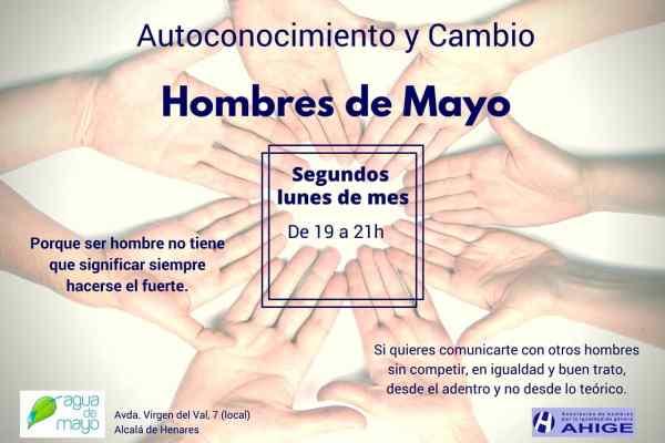 Grupo de Hombres en Autoconocimiento y Cambio. Lunes 10 de junio, 19h