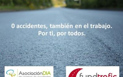 La campaña '0 accidentes' de las víctimas involucra al sector empresarial a nivel nacional