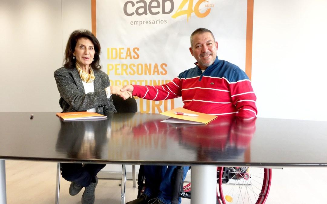 CAEB se suma a la campaña '0 accidentes, también en el trabajo. Por ti, por todos'