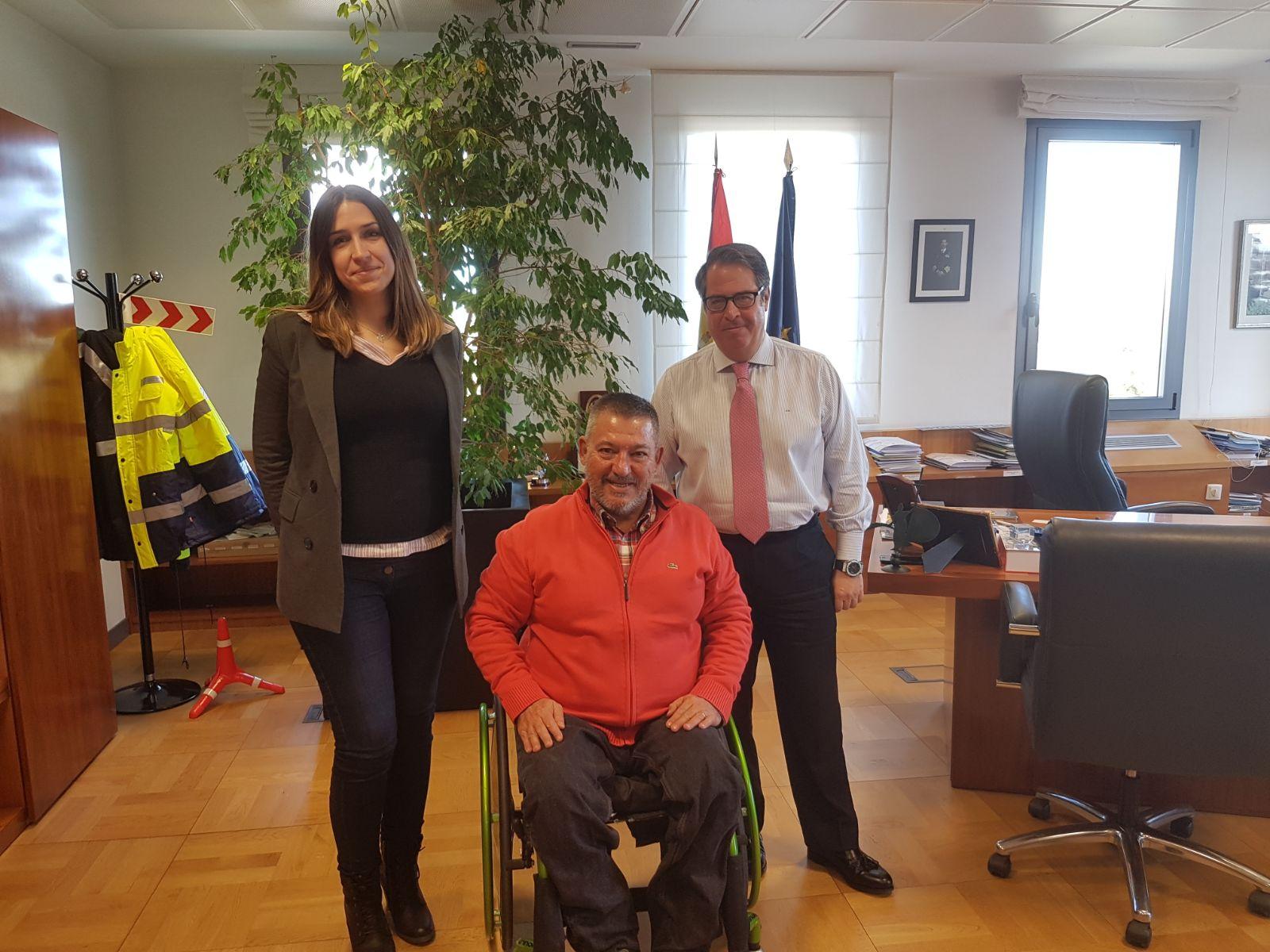 Asociación DIA se reune con Gregorio Serrano 2018 DGT