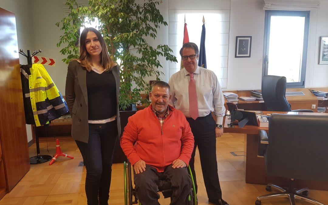 Nueva reunión de DIA con Gregorio Serrano, Director de la DGT