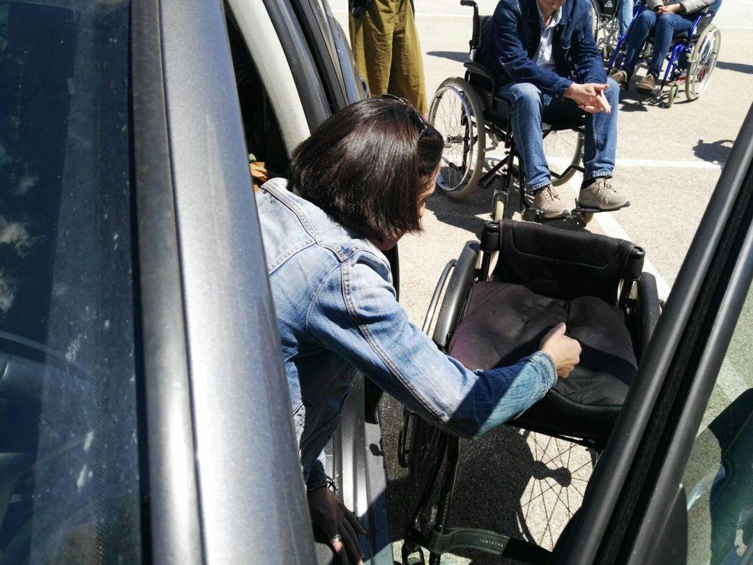 Personas con discapacidad - curso 18