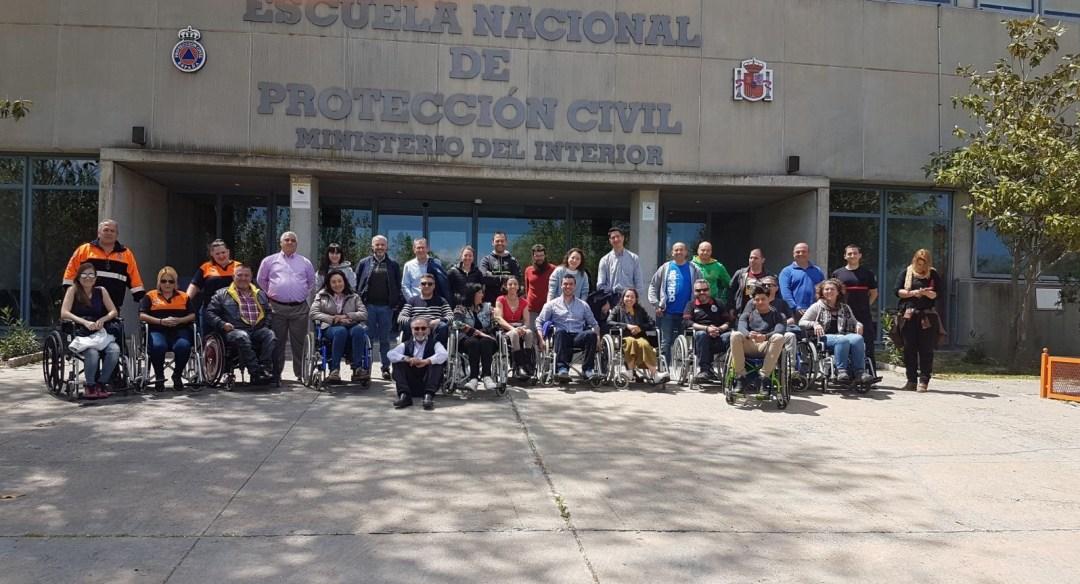 Personas con discapacidad - Curso mayo ENPC
