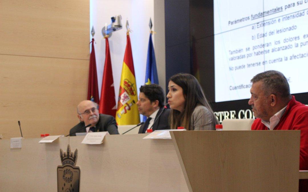 Valoración de la jornada en el ICAM sobre pérdida de calidad de vida e informes periciales sociales