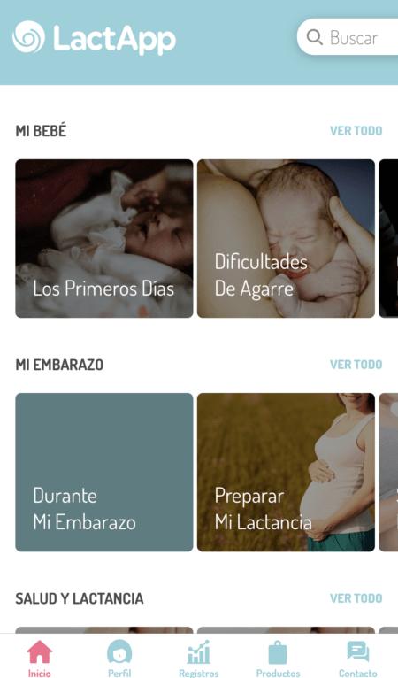 Recursos para tu lactancia, portada de la aplicación Lactapp de asesoramiento para tu lactancia