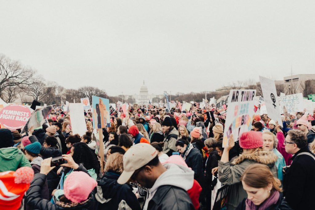 Manifestación del feminismo, y su presencia en la maternidad