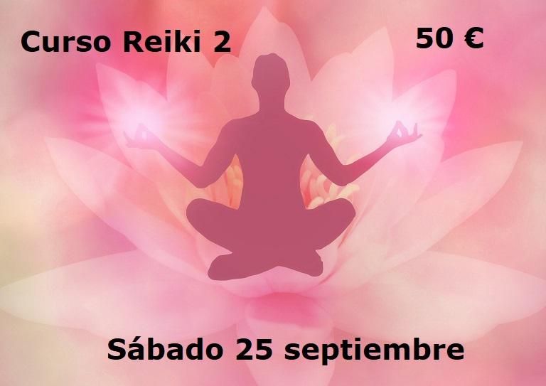 Curso Reiki 2 el 25 septiembre 2021