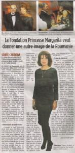 Tribune de Geneve, octombrie 2007 Principesa Margareta, Fanny Ardant, Frederic Mitterrand au strans fonduri pentru Hercules