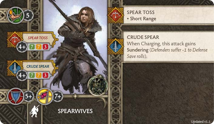 Spearwives (Verso) 1.5 US
