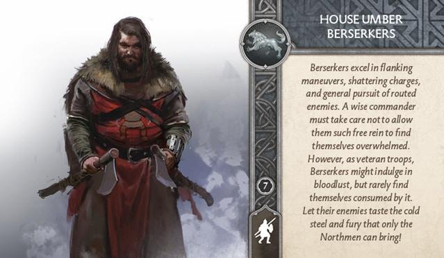 House Umber Berserkers Front