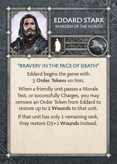 Eddard Stark - Warden of the North
