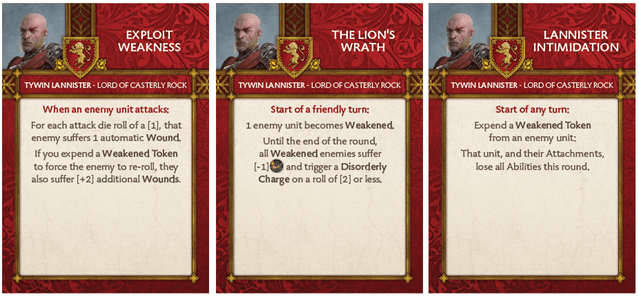 Tywin Lannister - Lord of Casterly Rock Tactics