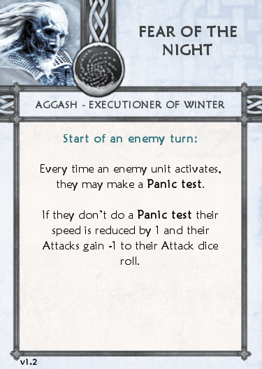 Other's Tactics Card - Fear of the Night b1.2