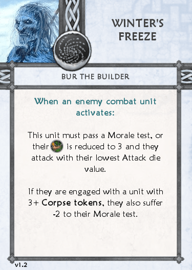 Others Tactics Card - Winter's Freeze