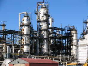 Refinery in Commerce City, Colorado
