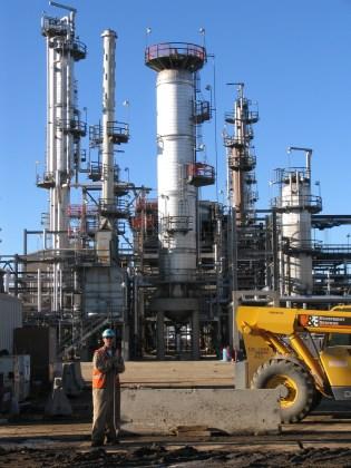 Refinery in Commerce City, Colorado