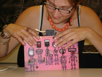 Recycled switches to create a musical instrument