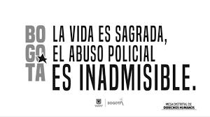 Así fue el Comité Civil de Convivencia, mesa de Policía y Derechos Humanos encabezado por la alcaldesa Claudia López