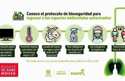 Bogotá se sabe mover con las medidas de bioseguridad