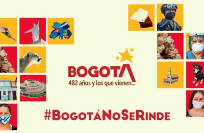 #BogotáNoSeRinde: únete a la conmemoración de los 482 años de Bogotá