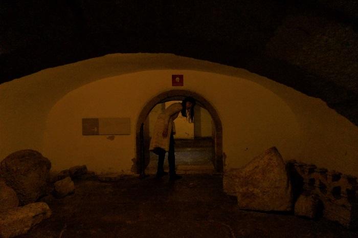 リスボンの海辺に佇む<ベレンの塔 (Torre de Belem)>内部|水牢