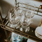 Bar Cart Decor A Southern Drawl
