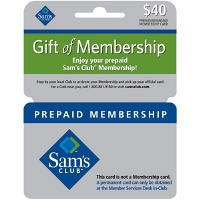 Sams Gift Membership