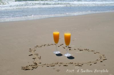 mimosas on the beach2