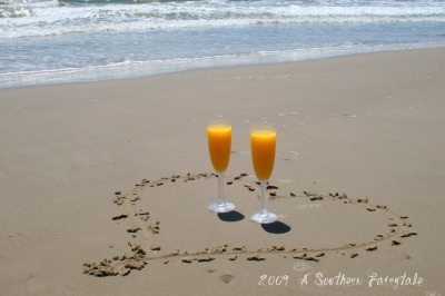 mimosas on the beach2