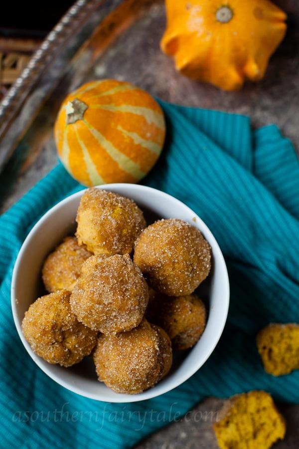 cake donut pumpkin muffins