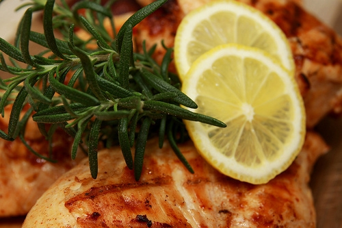 Lemon Rosemary Chicken
