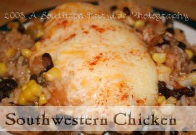 Sassy Southwestern Chicken