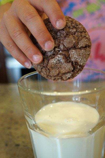 Gluten-Free Chocolate Crackle Cookies