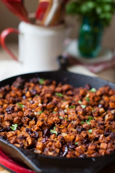 Chorizo, Poblano Thanksgiving Dressing Recipe