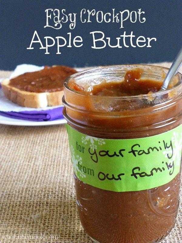 Easy Crockpot Apple Butter