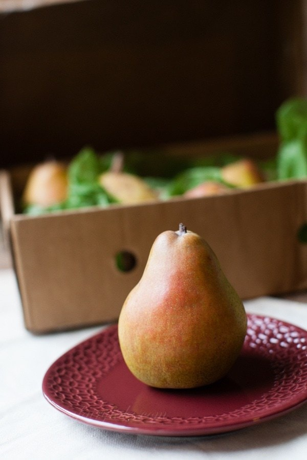Winter Salad with Harry & David Organic Royal Riviera Pears {and a Giveaway!}