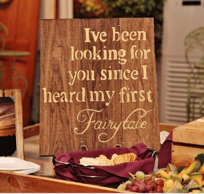 fairytale sign