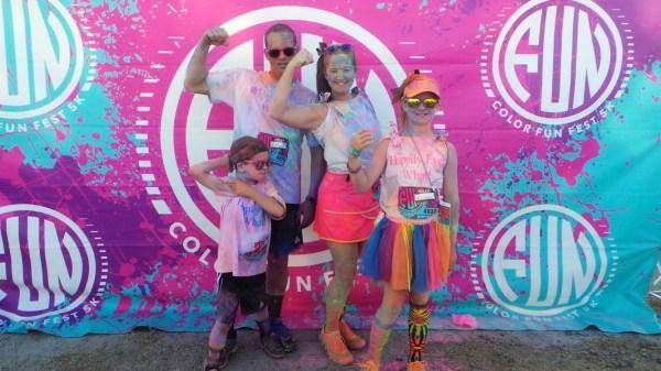 Color Fun Fest 5K in Houston