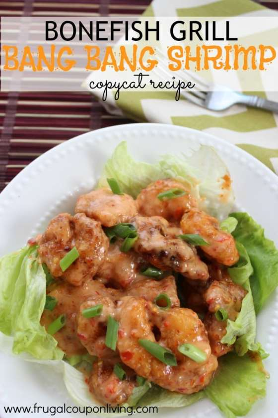 Bang Bang Shrimp Copycat recipe | Frugal Coupon Living