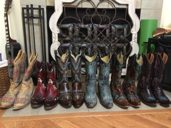 My boot collection