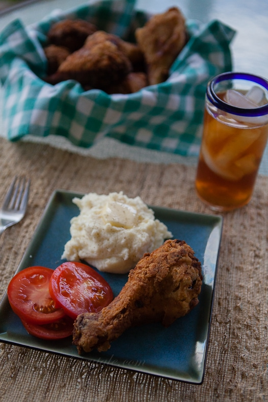 Fried Chicken and Sweet Tea