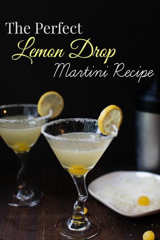 Easy and Delicious Lemon Drop Martini Recipe