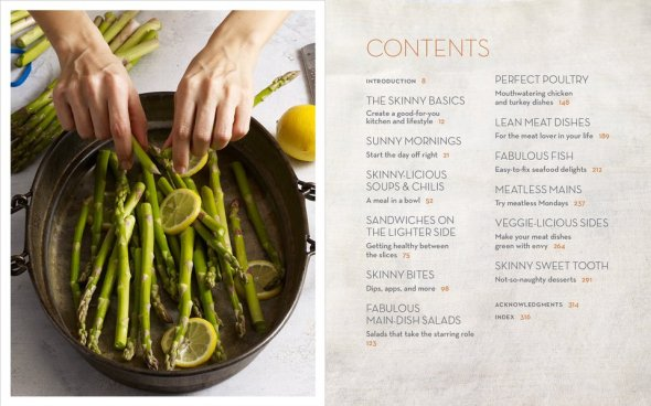 skinnytaste cookbook menu