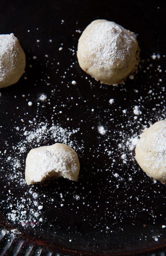 snowball crunch cookies